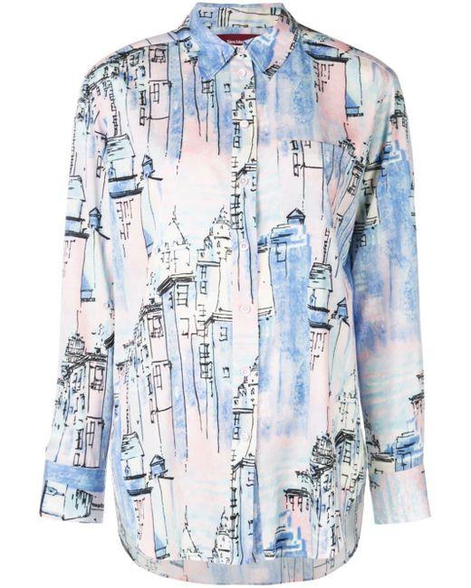 Sies Marjan City Tシャツ Blue