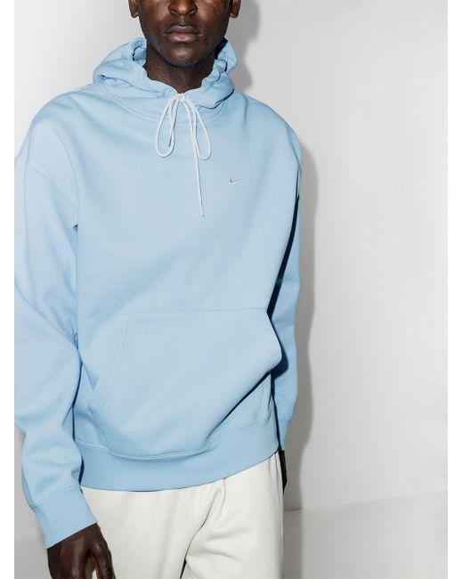メンズ Nike ロゴ パーカー Blue