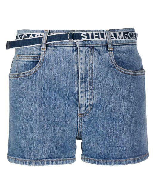 Stella McCartney デニムショートパンツ Blue