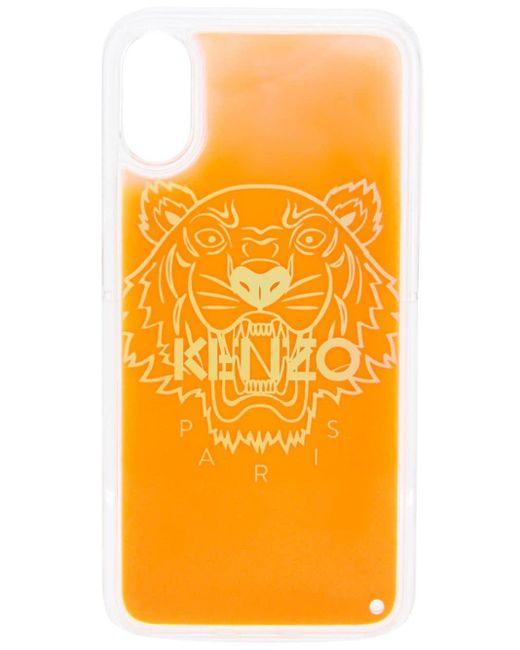 メンズ KENZO タイガー Iphone X/xs ケース Multicolor