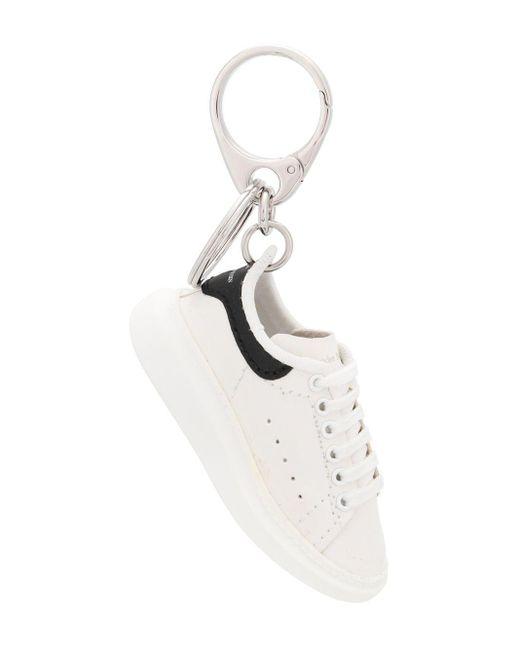 Alexander McQueen Oversized Sneaker Van Kalfsleer in het White voor heren