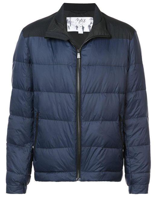 Aztech Mountain - Blue Elk Mountain Puffer Jacket for Men - Lyst