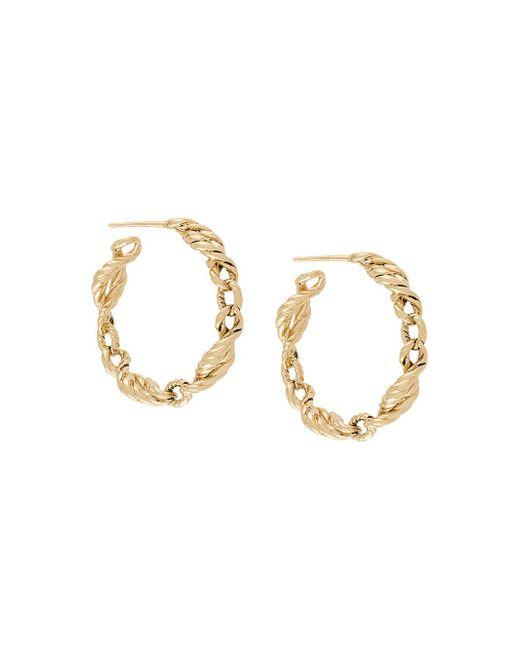 Aurelie Bidermann Metallic Lola Earrings
