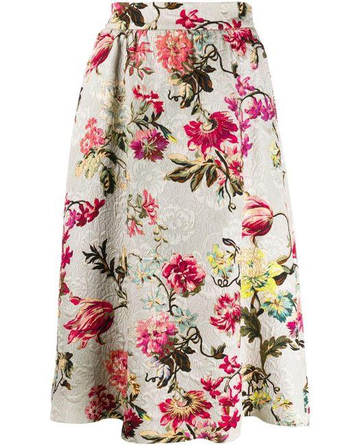 Etro フローラル スカート Multicolor