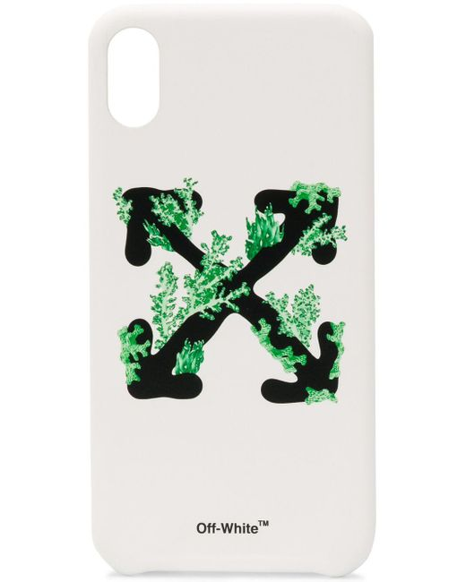 Off-White c/o Virgil Abloh ロゴ Iphone Xs Max ケース Green