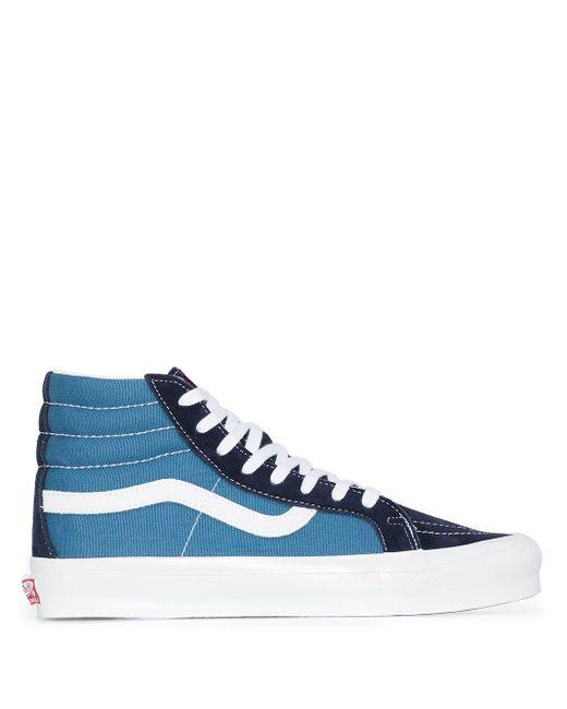 メンズ Vans ネイビー Og Sk8 Skool-hi Lx スニーカー Blue