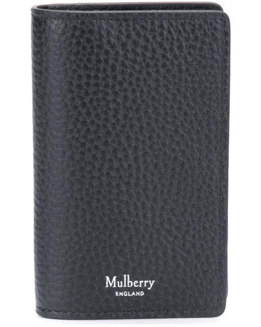 メンズ Mulberry カードケース Black