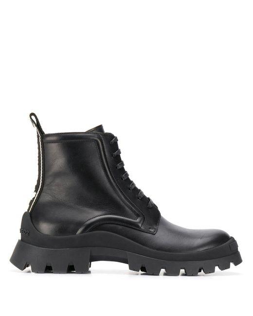 Ботинки В Стиле Милитари DSquared² для него, цвет: Black