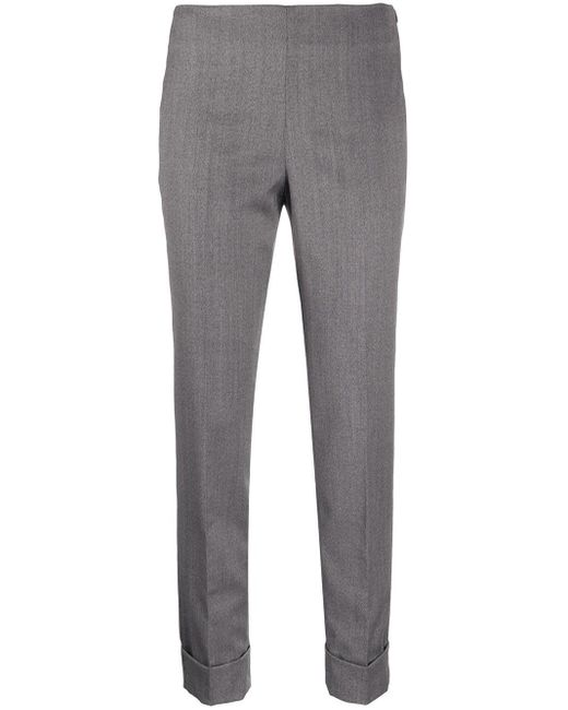Pantaloni slim crop di Peserico in Gray