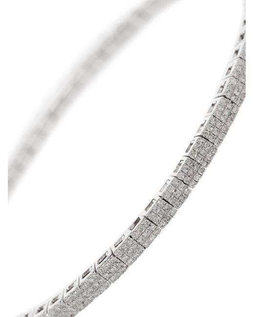 SHAY ダイヤモンド ブレスレット 18kホワイトゴールド Metallic