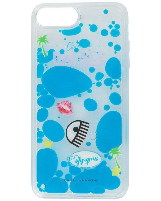 Chiaras Palace I-phone 8 cover Chiara Ferragni Z2Vtuf6pS