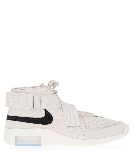 メンズ Nike ストラップ スニーカー White
