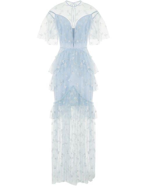 Alice McCALL Moon Lover レースドレス Blue