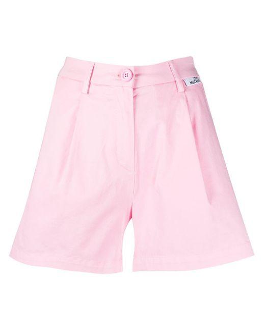 Love Moschino ワイドショートパンツ Pink