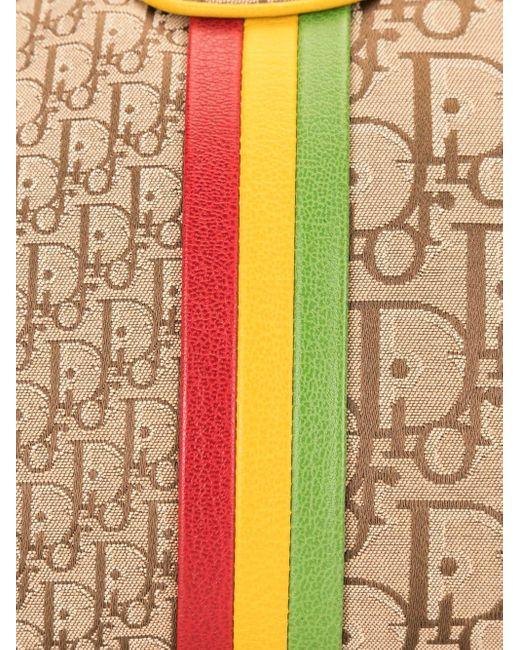 Dior プレオウンド トロッター ラスタ ハンドバッグ Multicolor