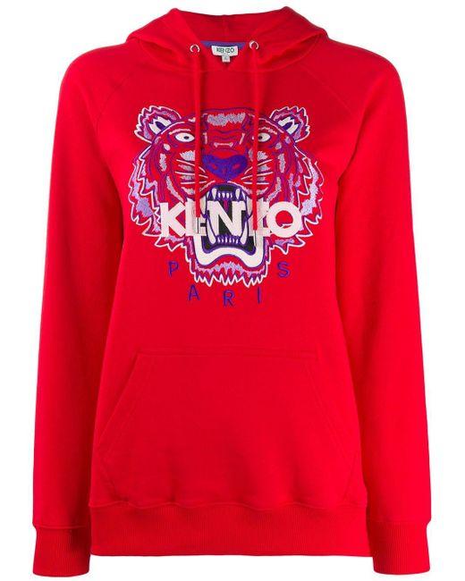 KENZO タイガー パーカー Red