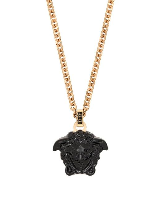 Колье С Подвеской Medusa Versace, цвет: Metallic