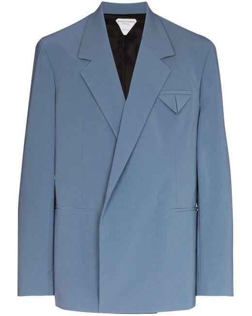 Двубортный Пиджак Bottega Veneta для него, цвет: Blue