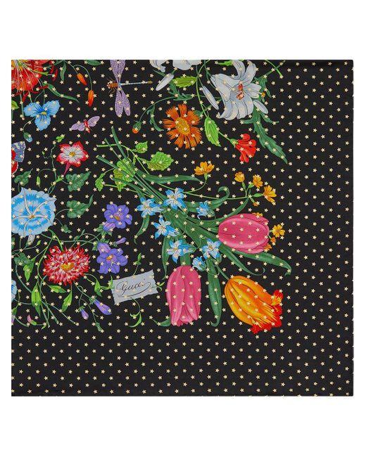 Gucci フローラ スター シルクスカーフ Multicolor