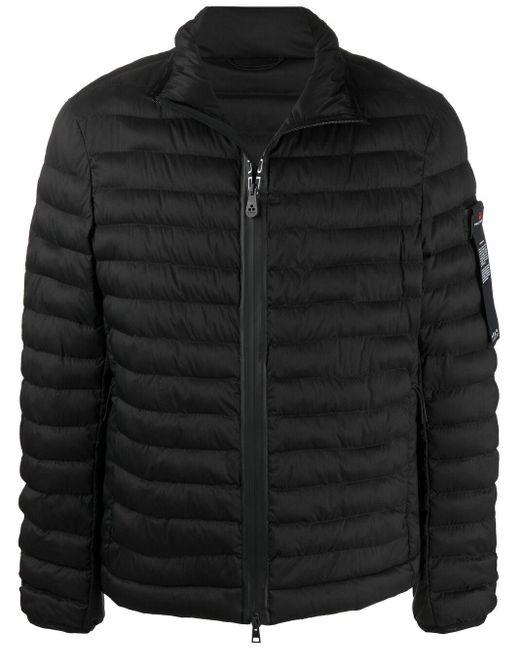 メンズ Peuterey ロゴ パデッドジャケット Black