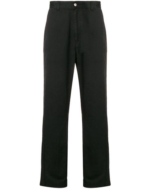 メンズ AMI ストレートフィット パンツ Black