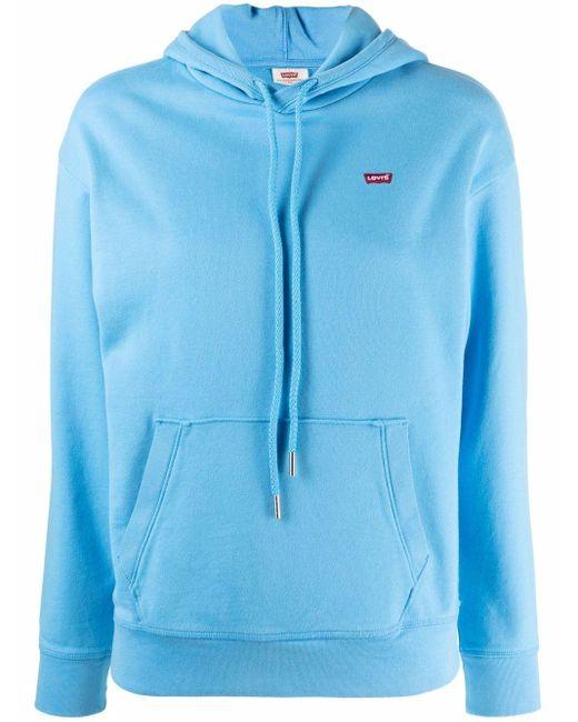 Худи Standard С Нашивкой-логотипом Levi's, цвет: Blue