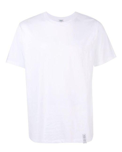 メンズ KENZO クルーネック Tシャツ White