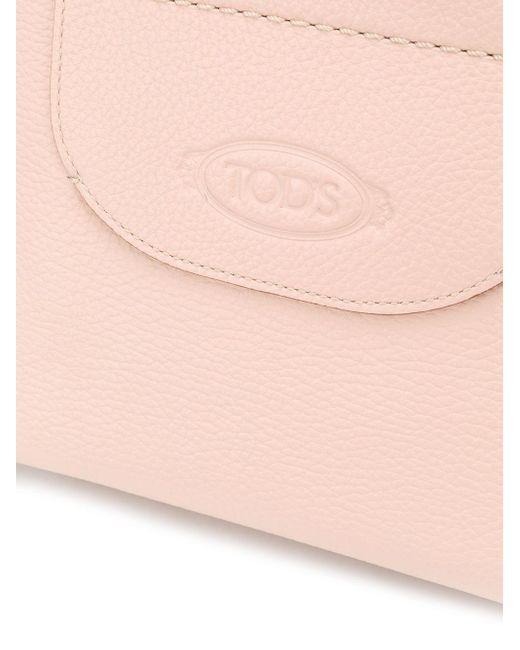 Tod's ロゴ ハンドバッグ Pink