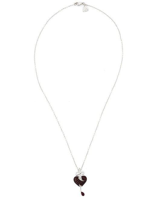 Stephen Webster - Metallic Sword Ruby Heart Pendant Necklace - Lyst