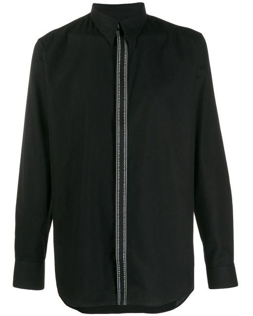 メンズ Givenchy ロゴ シャツ Black