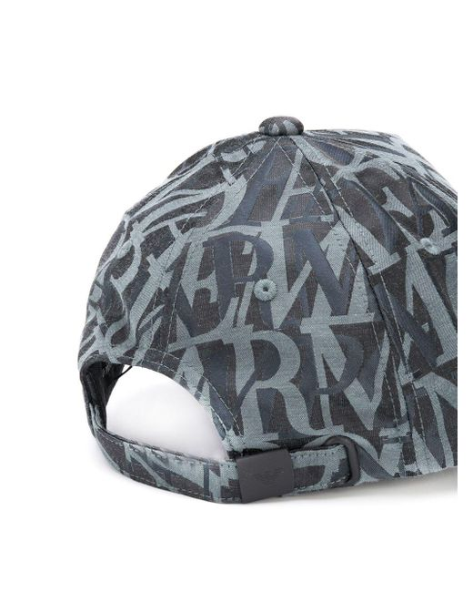 Бейсболка С Логотипом Emporio Armani для него, цвет: Gray