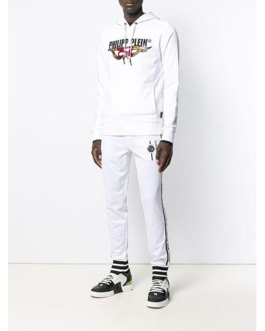 Sweat Flames Philipp Plein pour homme en coloris White