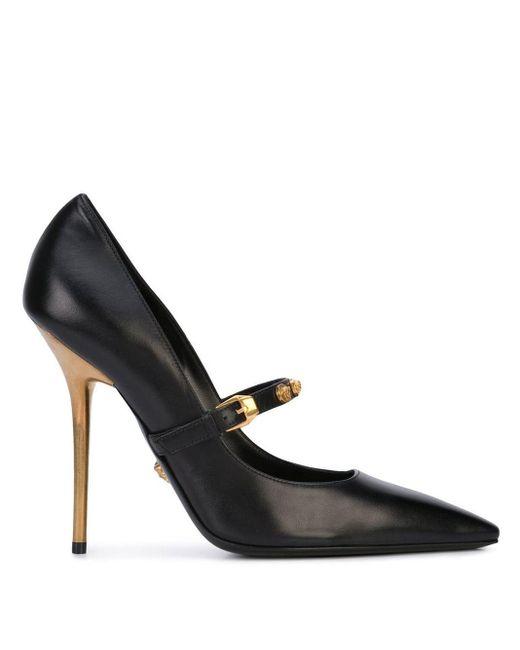 Versace メデューサ パンプス Black