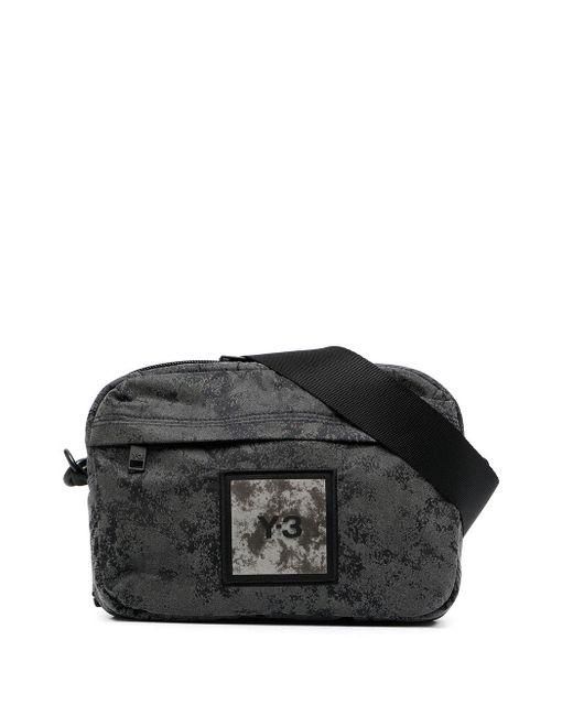 Y-3 ロゴパッチ ベルトバッグ Gray