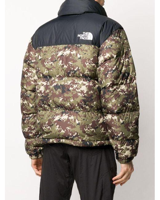 メンズ The North Face カモフラージュ ジャケット Multicolor