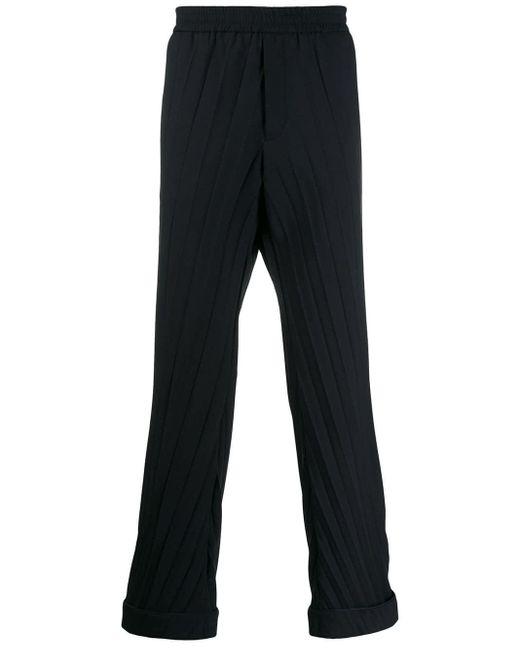 メンズ Valentino プリーツ パンツ Multicolor