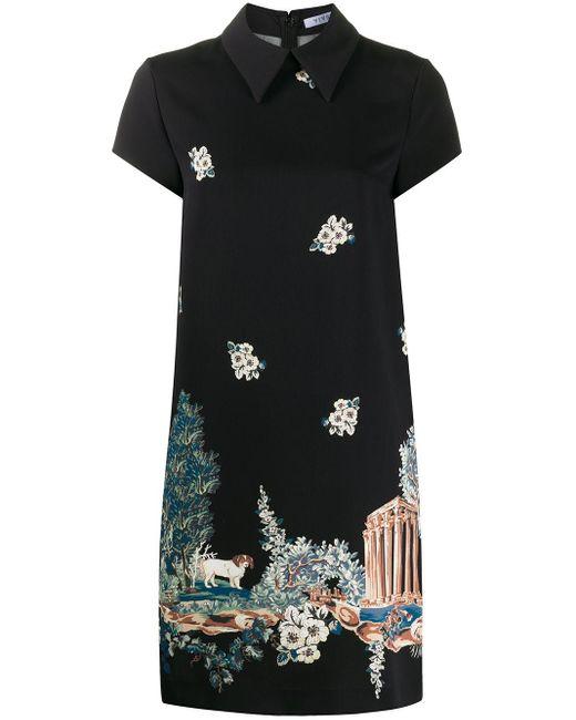 Vivetta グラフィック ドレス Black