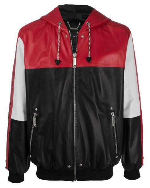 Veste colour block à capuche John Richmond pour homme en coloris Black