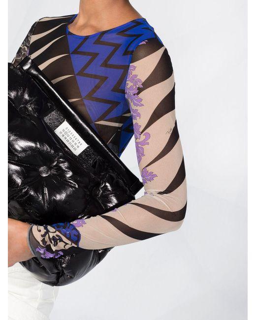 Прозрачное Боди С Принтом Из Коллаборации С Koché Emilio Pucci, цвет: Black