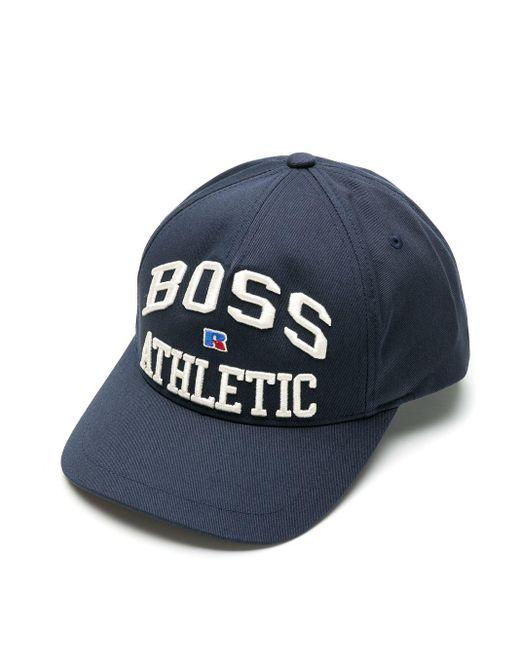 X Russell Athletic casquette à logo brodé BOSS by Hugo Boss pour homme en coloris Blue