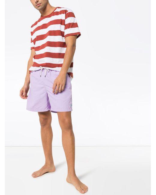メンズ Polo Ralph Lauren Traveller トランクス水着 Purple