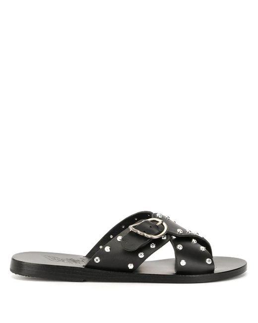 Ancient Greek Sandals Pella Rivets サンダル Black