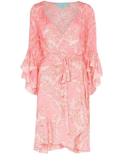 Melissa Odabash Kirsty プリント ドレス Pink