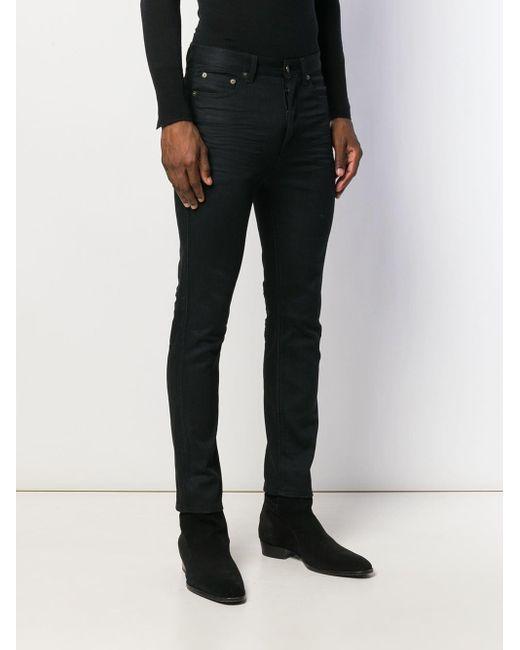 Джинсы Скинни Saint Laurent для него, цвет: Black