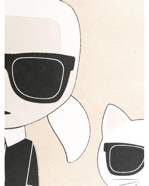 Karl Lagerfeld K/ikonik Karl & Choupette ハンドバッグ Multicolor