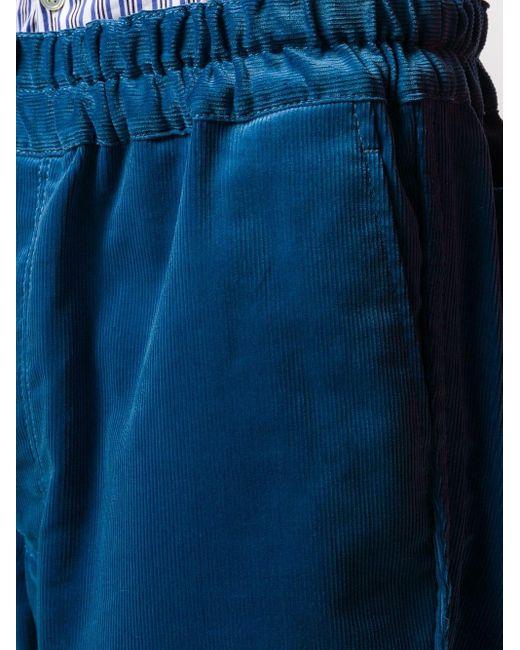 メンズ Comme des Garçons コーデュロイ チノショーツ Blue