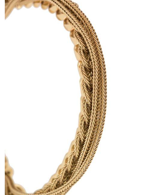 メンズ Emanuele Bicocchi トリプルチェーン ブレスレット Metallic