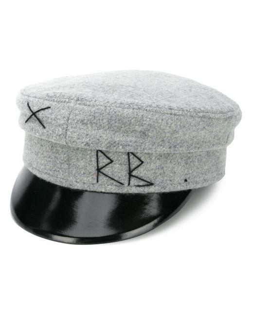 Ruslan Baginskiy Baker Boy ウール帽 Gray
