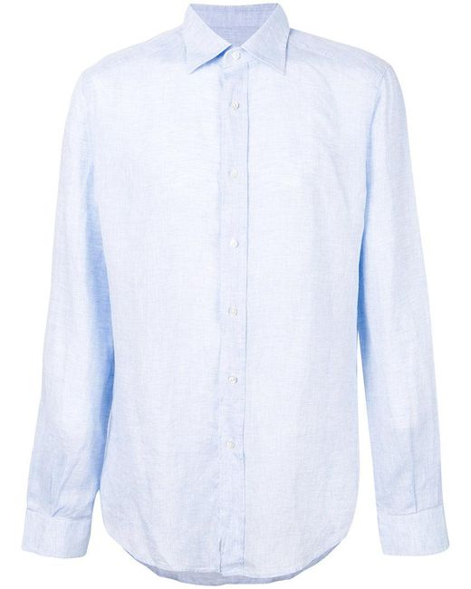 Fashion Clinic Timeless - Blue Classic Shirt for Men - Lyst