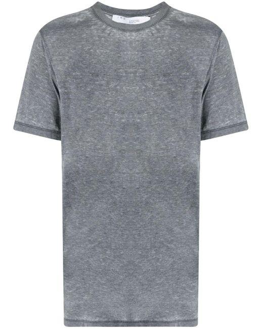 メンズ IRO ダメージ Tシャツ Gray